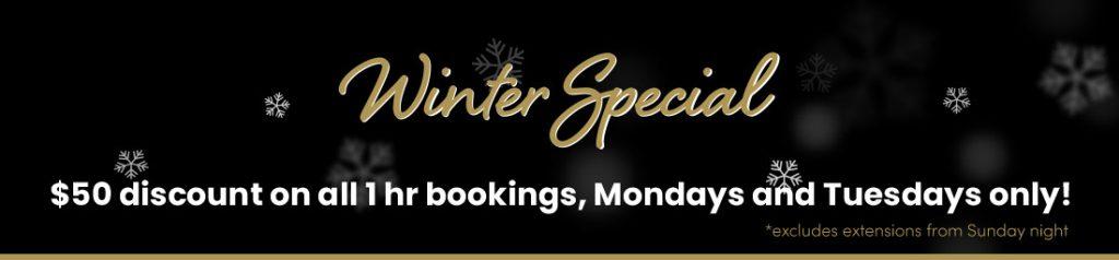 Winter Special Discount